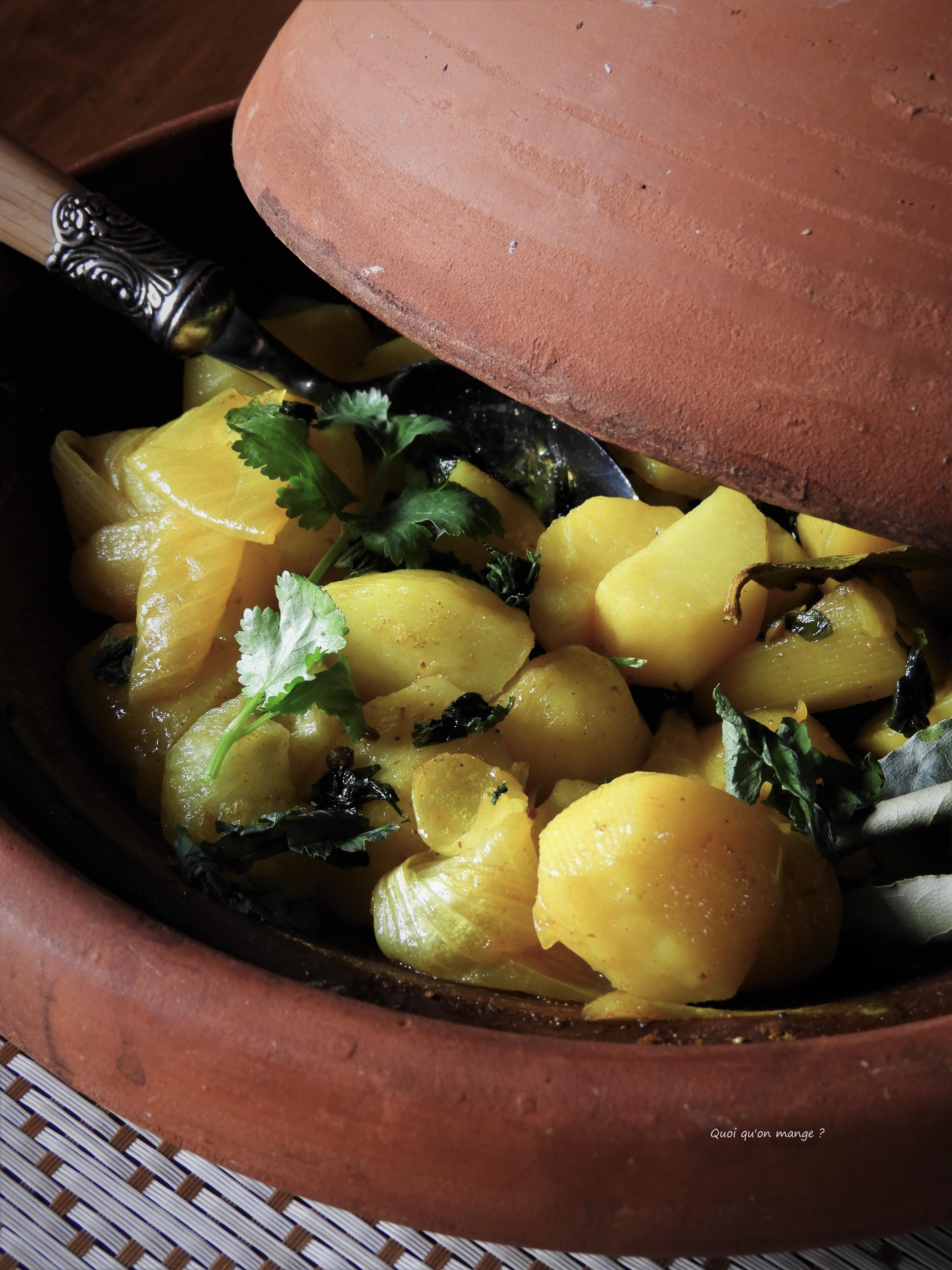 Tajine de pommes de terre