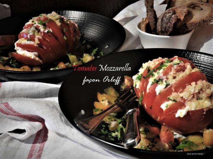 Tomates Mozzarella façon Orloff