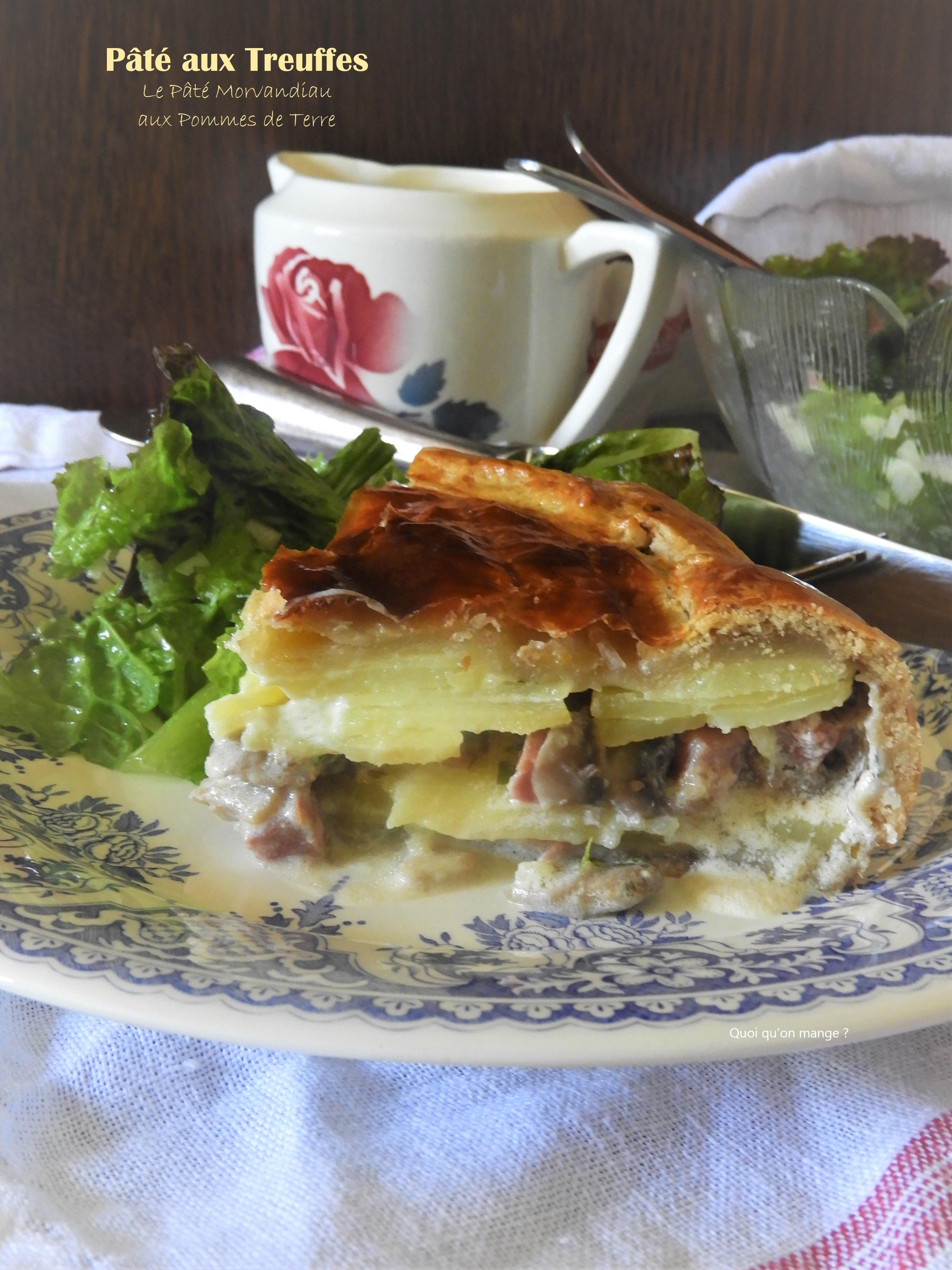 Pâté aux Treuffes, le pâté morvandiau aux pommes de terre