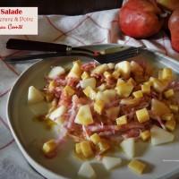 Salade de betterave et de poire au Comté
